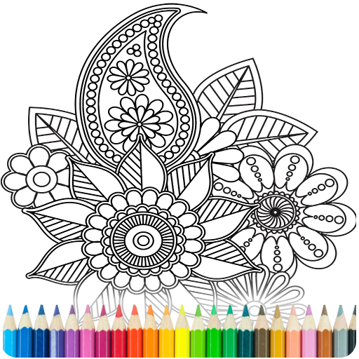 Coloring Book for Adults MOD APK Unlimited Money 7.2.6
