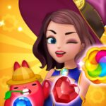 Jewel Witch – Best Funny Three Match Puzzle Game MOD APK Unlimited Money 1.7.1
