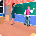 Virtual High School Teacher 3D MOD APK Unlimited Money 2.3