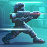 Endurance space shooting RPG game MOD APK Unlimited Money 1.4.2