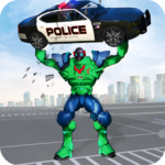 Incredible Monster Robot Hero Crime Shooting Game MOD APK Unlimited Money 1.9
