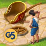 Jewels of Rome Match gems to restore the city MOD APK Unlimited Money