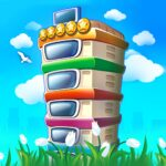 Pocket Tower Building Game Megapolis Kings MOD APK Unlimited Money 3.18.2