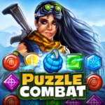 Puzzle Combat Match-3 RPG MOD APK Unlimited Money 23.0.0