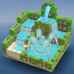 Flow Water Fountain 3D Puzzle MOD APK Unlimited Money 1.2