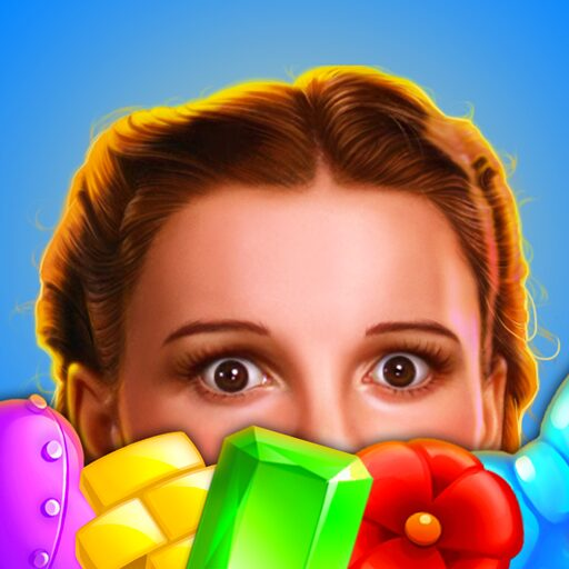 The Wizard of Oz Magic Match 3 Puzzles Games MOD APK Unlimited Money 1.0.4706