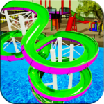 Water Slide Games Simulator MOD APK Unlimited Money 1.1.7