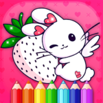 Animated Kids Coloring Book MOD APK Unlimited Money 3.4