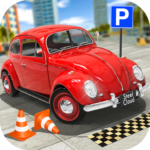 Classic Car Parking Real Driving Test MOD APK Unlimited Money 1.7.9