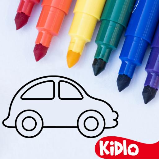Coloring Games for Kids – Drawing Color Book MOD APK Unlimited Money 2.4.5