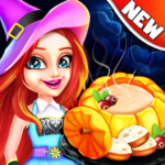 Halloween Cooking Chef Madness Fever Games Craze MOD APK Unlimited Money 1.4.25
