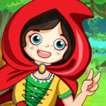 Mini Town Red Riding Hood Fairy Tale Kids Games MOD APK Unlimited Money 2.2