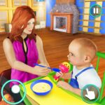 New Baby Single Mom Family Adventure MOD APK Unlimited Money 1.1.0
