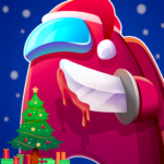 Red Imposter Nightmare Christmas MOD APK Unlimited Money 1.0.8