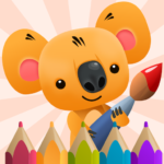 oloring Book for Kids with Koala MOD APK Unlimited Money 3.3