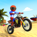 Beach Bike Stunts Crazy Stunts and Racing Game MOD APK Unlimited Money 5.5