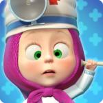 Masha and the Bear Free Animal Games for Kids MOD APK Unlimited Money 4.0.6