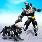 Flying Panther Robot Hero GameCity Rescue Mission MOD APK Unlimited Money