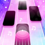 Magic Pink Tiles Piano Game MOD APK Unlimited Money 1.0.4