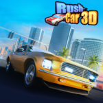Rush Car 3D MOD APK Unlimited Money 1.0.3