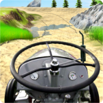 Tractor Trolley Simulator Offroad Tractor Racing MOD APK Unlimited Money