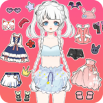 Vlinder Princess2doll dress up gamesstyle avatar MOD APK Unlimited Money