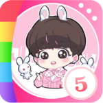 Black-Pink Color By Number – KPOP Star Painting MOD APK Unlimited Money
