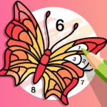 Fun Color Color By Number Pages Paint Happy MOD APK Unlimited Money