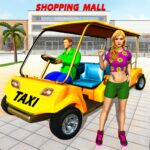 Shopping Mall Radio Taxi Car Driving Taxi Games MOD APK Unlimited Money