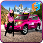 New York Taxi Duty Driver Pink Taxi Games 2018 MOD APK Unlimited Money
