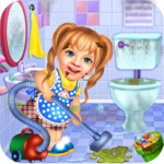Sweet Baby Girl Cleaning Games 2021 House Cleanup MOD APK Unlimited Money
