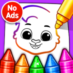 Drawing Games Draw Color For Kids MOD APK Unlimited Money