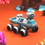 Space Rover idle planet mining tycoon simulator MOD APK Unlimited Money