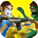 Two Guys Zombies 3D Online game with friends MOD APK Unlimited Money