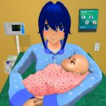 Anime Family Life Simulator Pregnant Mother Games MOD APK Unlimited Money