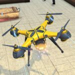 Drone Attack Flight Game 2020-New Spy Drone Games MOD APK Unlimited Money