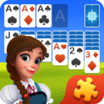 Solitaire Jigsaw Puzzle – Design My Art Gallery MOD APK Unlimited Money
